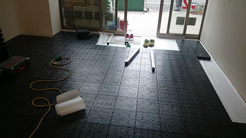 OAフロア大阪市施工事例3